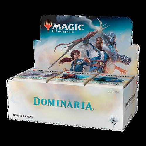 MTG - DOMINARIA Booster Pack box 36 ITA