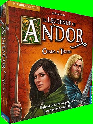Leggende di ANDOR: Chada e Thorn - gioco per 2