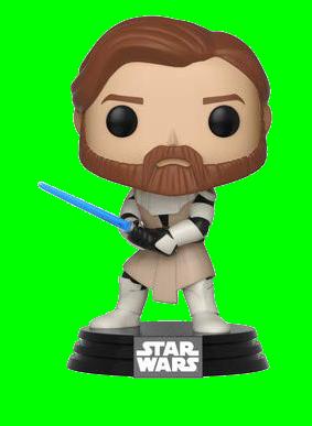 Funko POP! Star Wars: Clone Wars - Obi Wan Kenobi