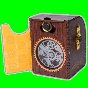 Wooden Deck Case - Gears
