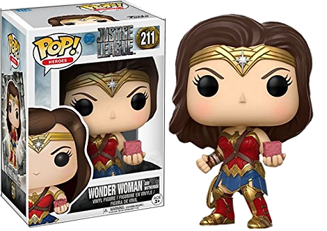 Funko POP! Justice League: 211 Wonder Woman w/ Mother Box