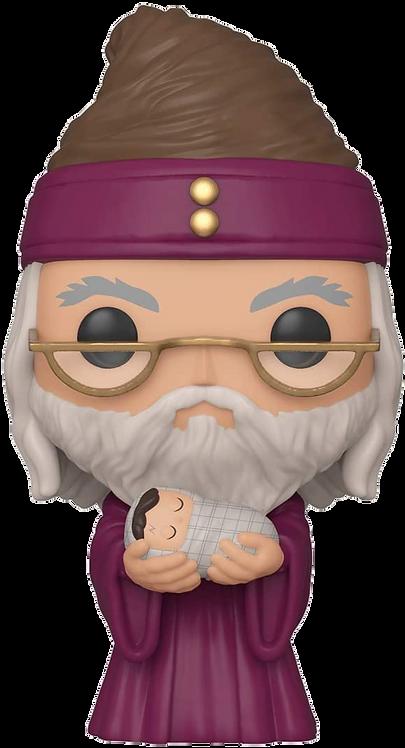 POP! HARRY POTTER: DUMBLEDORE W/BABY HARRY