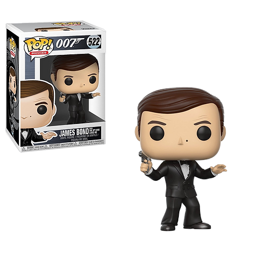 Funko - POP! Movies 522: James Bond 007 - Roger Moore