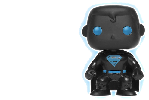 Funko POP! Justice League: Superman Silhouette