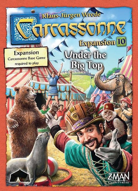 Carcassonne - Exp: 10 - UNDER the BIG TOP - EN