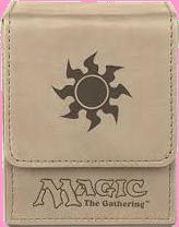 Ultra PRO Deck Box Flip - Magic Mana - Mat White