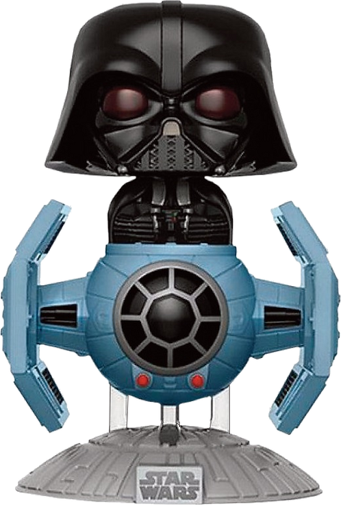 Funko POP! - STAR WARS 176  DARTH VADER + TIE FIGHTER