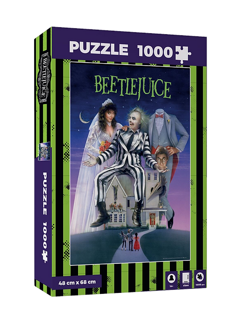 BEETLEJUICE MOVIE POSTER 1000 PCS PUZZLE