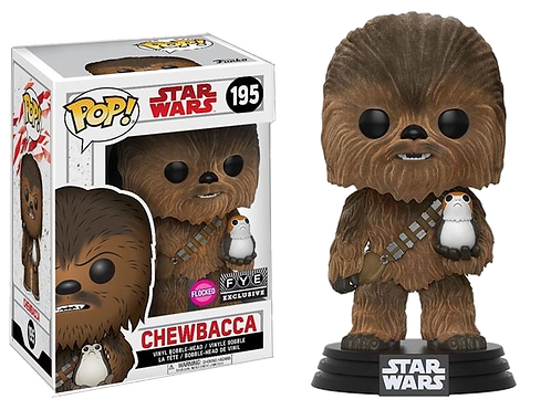 Funko - POP! Star Wars 195: CHEWBACCA Floked version