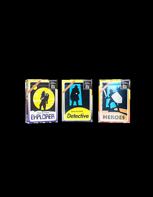 Adventure Cards - 3 avventure diverse