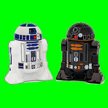 Star Wars Salt & Pepper Shakers Ceramic