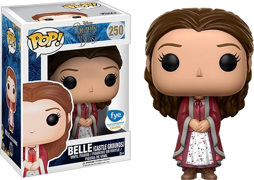 Funko! POP! Disney Beauty and The Beast Live Action 250 - Belle Castle Grounds