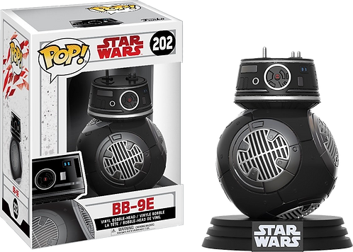 Funko POP! Star Wars Episode 8 The Last Jedi - 202- BB-9E