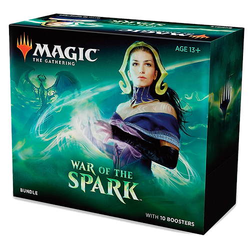 MTG - WAR OF THE SPARK BUNDLE ENG