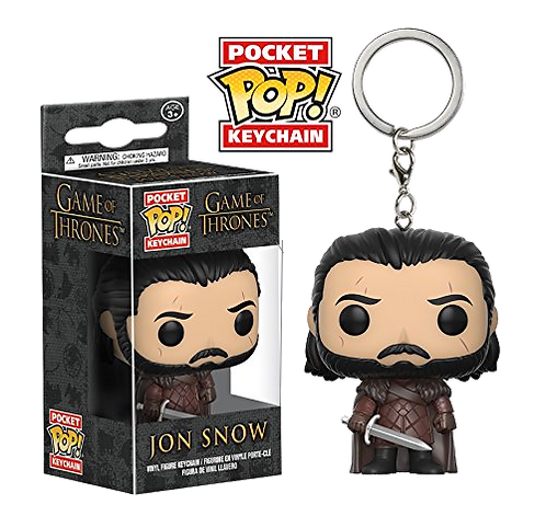 Funko Pocket POP! Keychain - Game of Thrones - Jon Snow