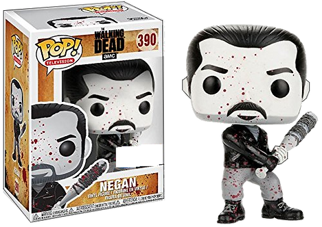 Funko POP! Television - The Walking Dead 390 NEGAN B/W EXCLUSIVE