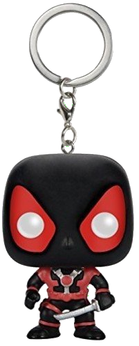 Funko Pocket POP! Keychain - Deadpool Black Costume