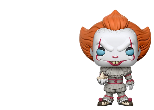 Funko POP! Movies IT 472 - Pennywise with Boat