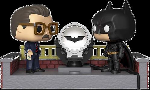 Funko POP! Movie Moment - Batman 80th - w/ Light Up Bat Signal
