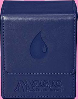 Ultra PRO Deck Box Flip - Magic Mana - Mat Blue