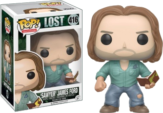 Funko POP! - LOST -  'Sawyer' James Ford #416
