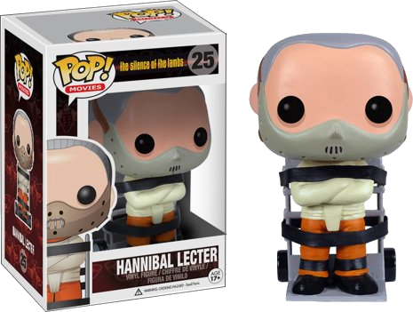 POP MOVIES: The silence of the lambs 25 HANNIBAL LECTER