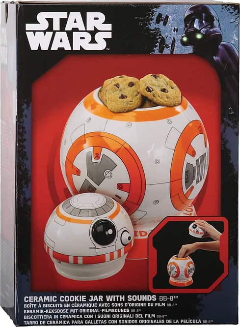 Star Wars Cookie Jar with Sounds BB-8