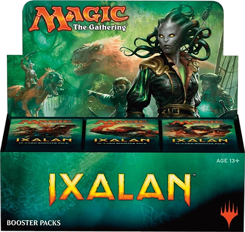 MTG - IXALAN  Booster Pack box 36 ITA