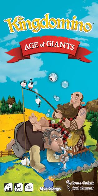 Kingdomino / Queendomino- Esp Age of Giants