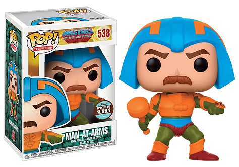 Funko POP! Speciality Series - Masters Of The Universe 538 -  Man-At-Arms