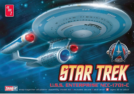 STAR TREK ENTERPRISE 1701-C MODEL KIT