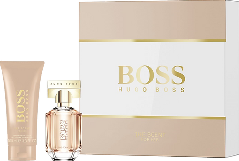 BOSS THE SCENT for her cofanetto edp 30 ml + B.L. 100 ml