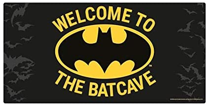 BATMAN BATCAVE METAL SIGN