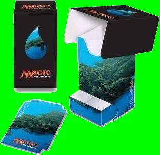 Ultra Pro Magic The Gathering Island Deck Box