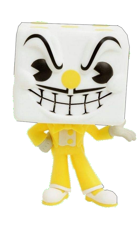 Funko POP! Games Cuphead - King Dice CHASE