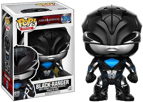 Funko POP! Power Rangers 396 - Black Ranger