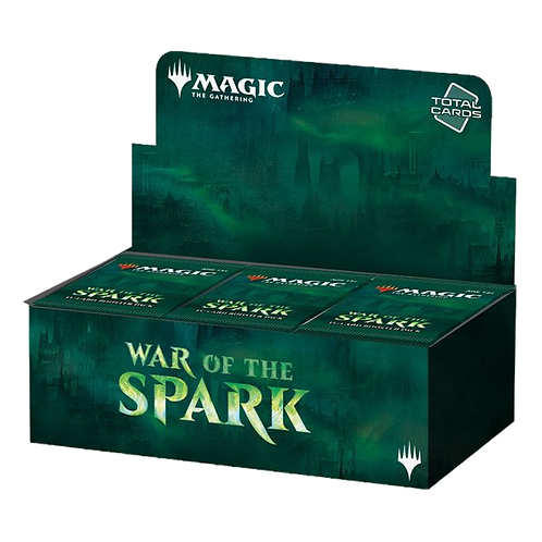MTG - WAR OF THE SPARK Booster Pack box 36 ITA