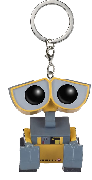 DISNEY WALL-E - POP FUNKO VINYL KEYCHAIN WALL-E