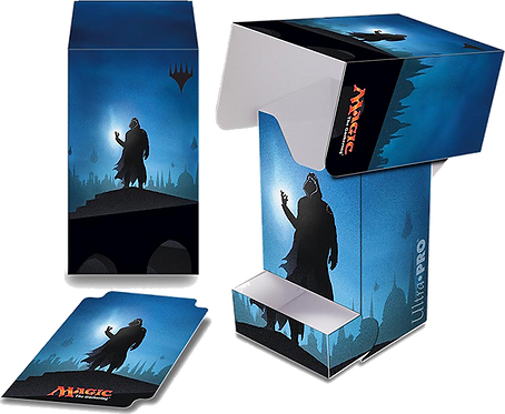 Ultra PRO MAGIC Deck Box with Tray - Planeswalker Silhouette: Jace