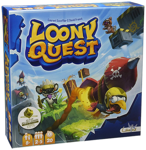 LOONY QUEST + ESP THE LOST CITY