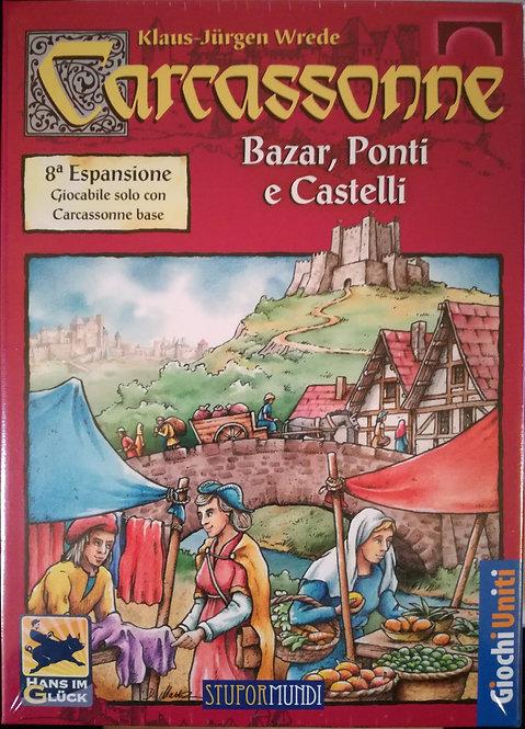 Carcassonne Exp 8 Bazar, Ponti e Castelli - IT