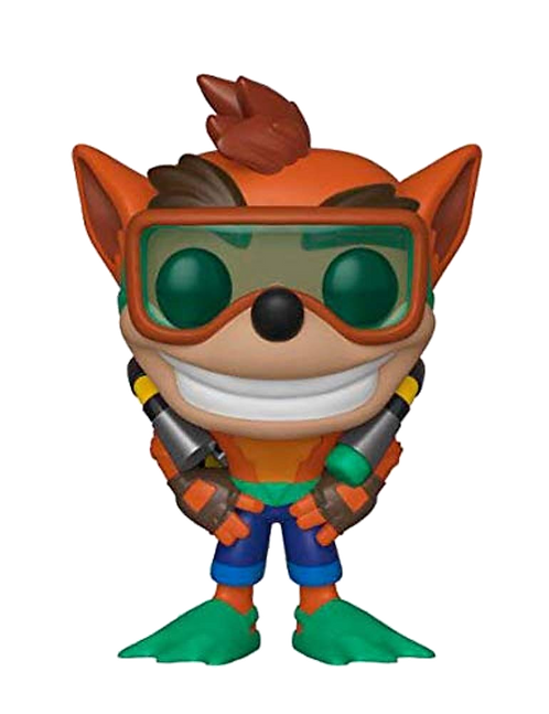 Funko POP! Crash Bandicoot: Crash w/ Scuba