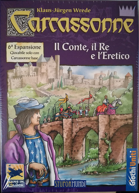 Carcassonne Exp 6 Il Conte il Re e l'Eretico - IT