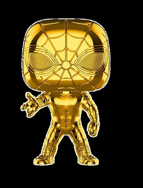 Funko POP! MS 10 - Iron Spider (Chrome)