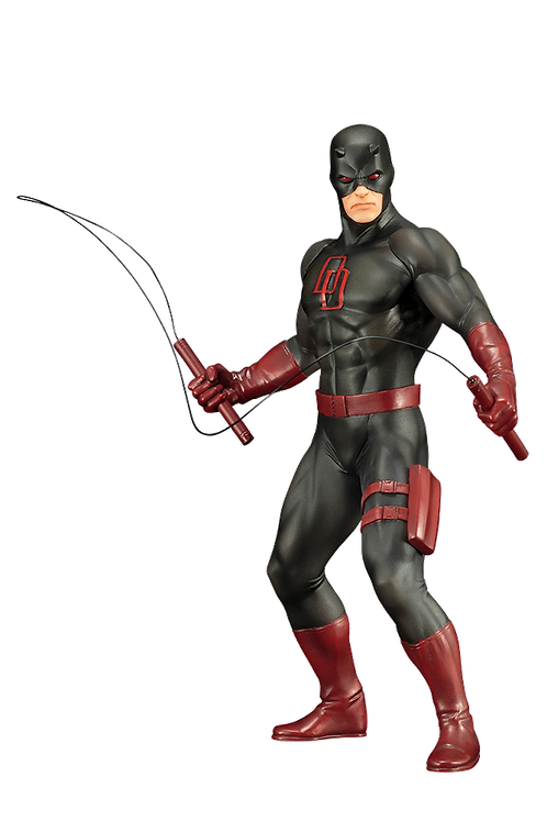 Marvel: The Defenders - Daredevil Black Suit Artfx+ PVC Statue
