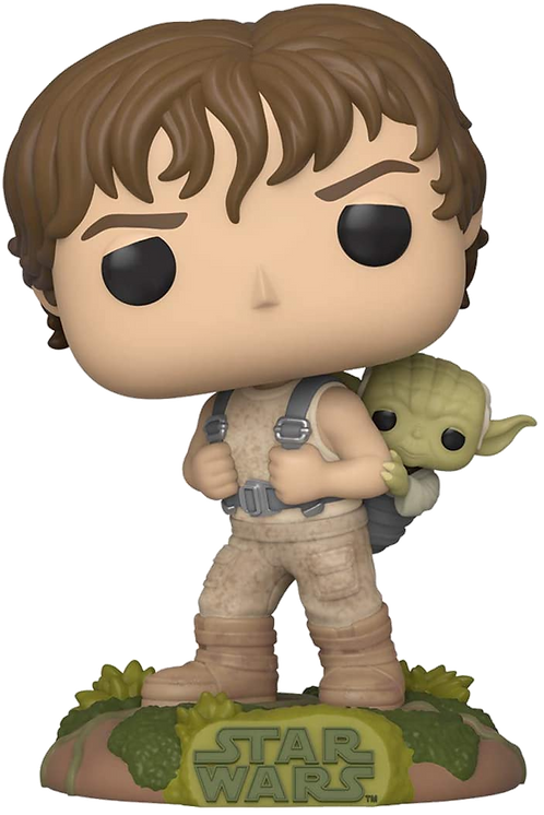 POP! : STAR WARS TRAINING LUKE WITH YODA