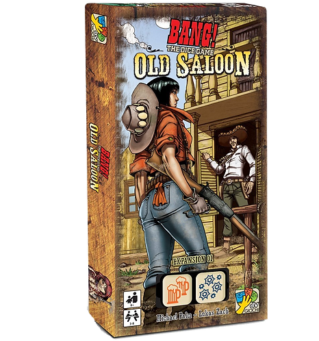 BANG! THE DICE GAME ESP : OLD SALOON