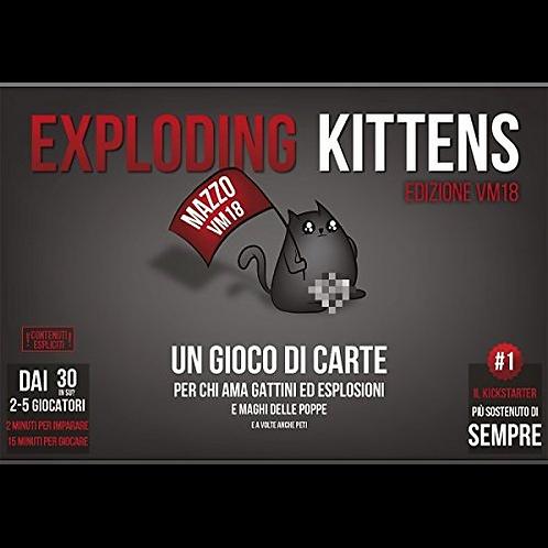 Exploding Kittens: Edizione VM18