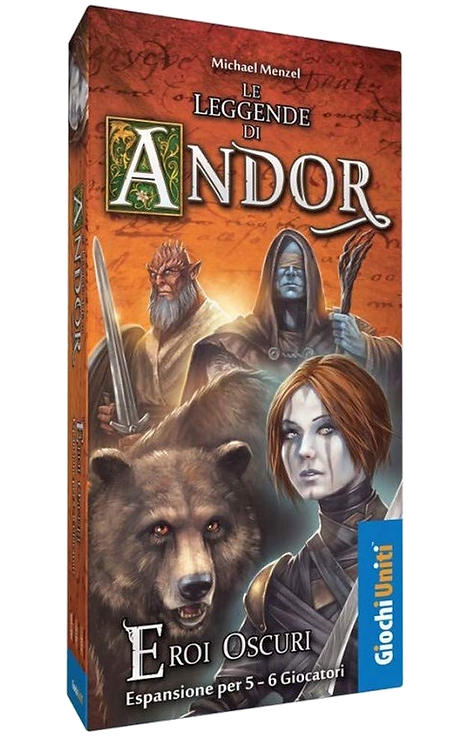 Le Leggende di Andor: ESp Eroi Oscuri