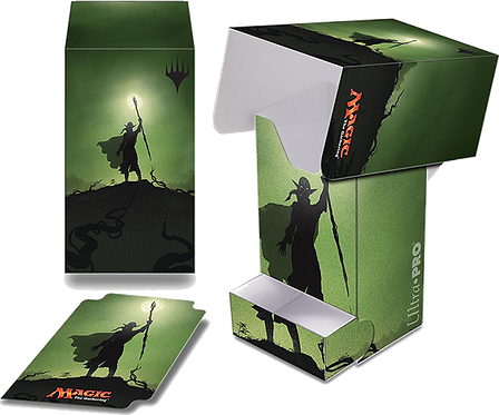 Ultra PRO MAGIC Deck Box with Tray - Planeswalker Silhouette: Nissa